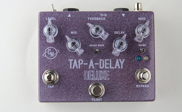 Cusack Music Introduces the Tap-A-Delay Deluxe Delay Pedal