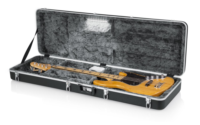 Gator Cases GC Bass Guitar LED Edition Case Open