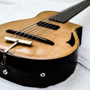 Bass of the Week: Emiliano Bernal Acoustic/Electric Custom 6-String Bass