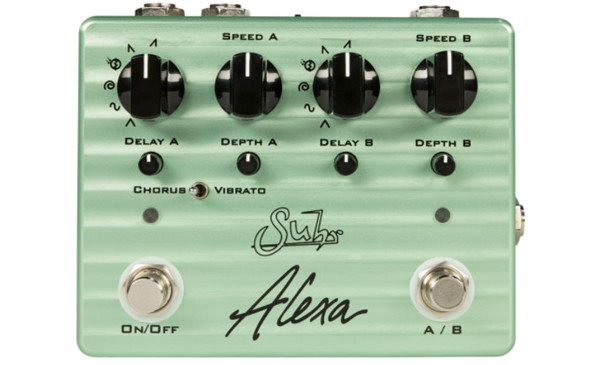 Suhr Introduces the Alexa Chorus/Vibrato Pedal