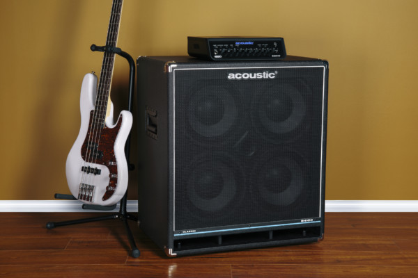 Acoustic Amplification Introduces B410C Bass Cabinet