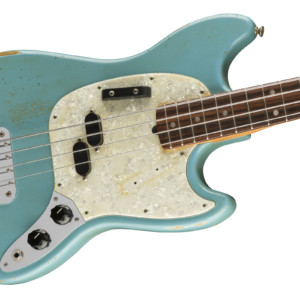 Fender Now Shipping the Justin Meldal-Johnsen Road Worn Mustang Bass