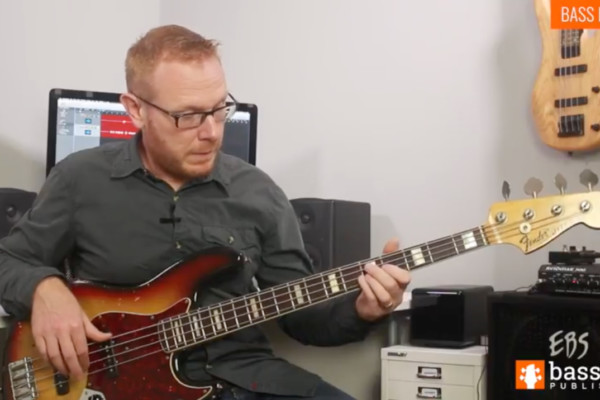 Stuart Clayton: Bass Lick of the Week #4 – Harmonics & Chords