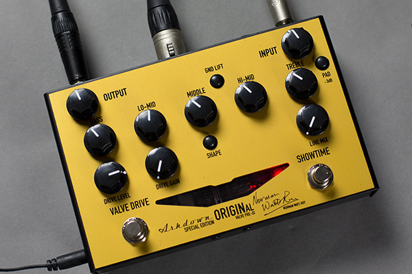 Ashdown Announces Norman Watt-Roy Special Edition OriginAL Pre-DI