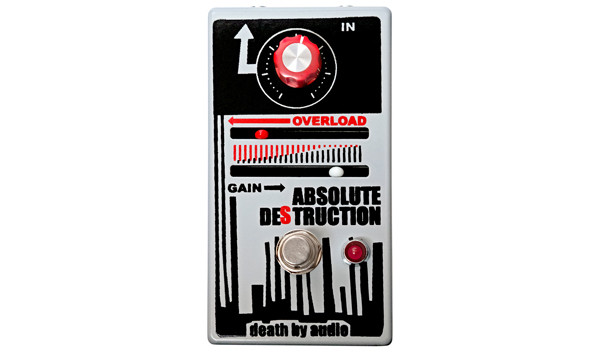 Death By Audio Introduces Absolute Destruction Pedal
