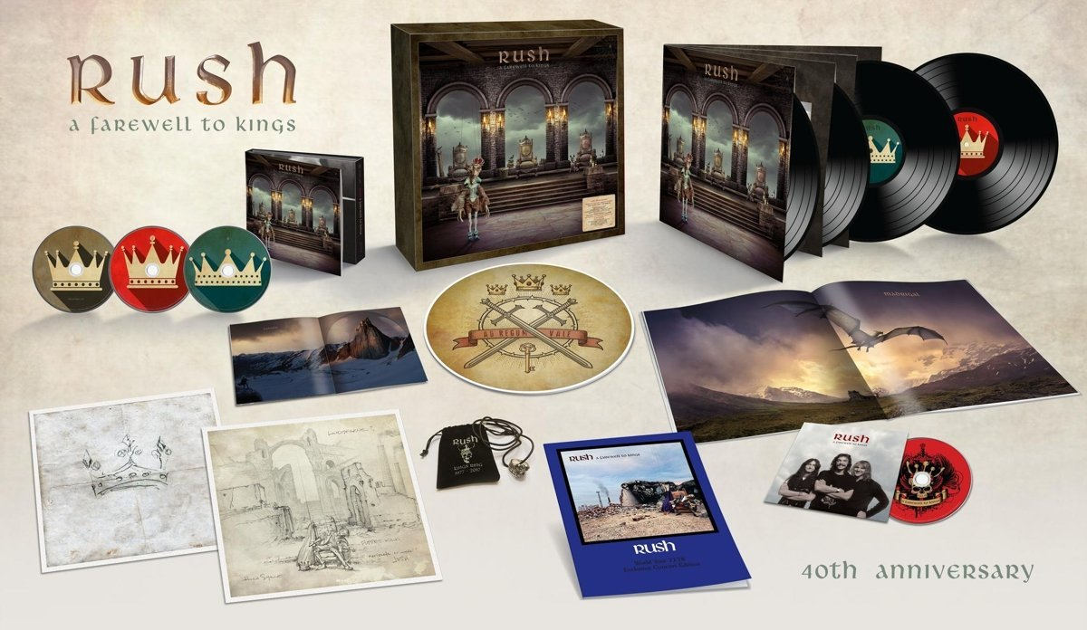 Rush: A Farewell to Kings 40th Anniversary Edition - super deluxe edition box set