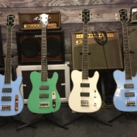 Thin The Herd Guitars and Birdsong Guitars Announce the CBG 30.5 T-Bass