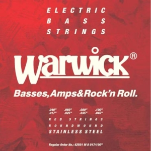 Warwick Red Strings 8-String Set
