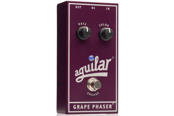 Aguilar Amplification Unveils Grape Phaser Bass Pedal