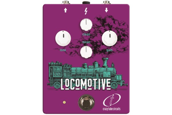 Crazy Tube Circuits Unveils the Locomotive Tube Bass Overdrive Pedal