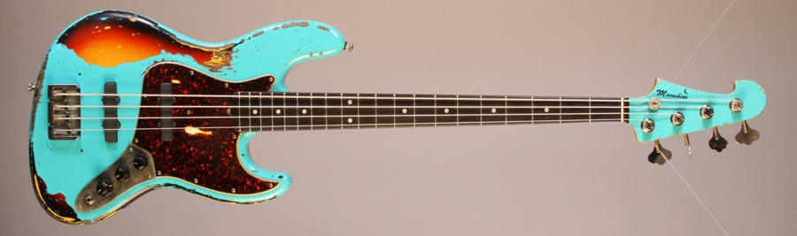 Moonshine Custom Guitars Rat Rod J Bass