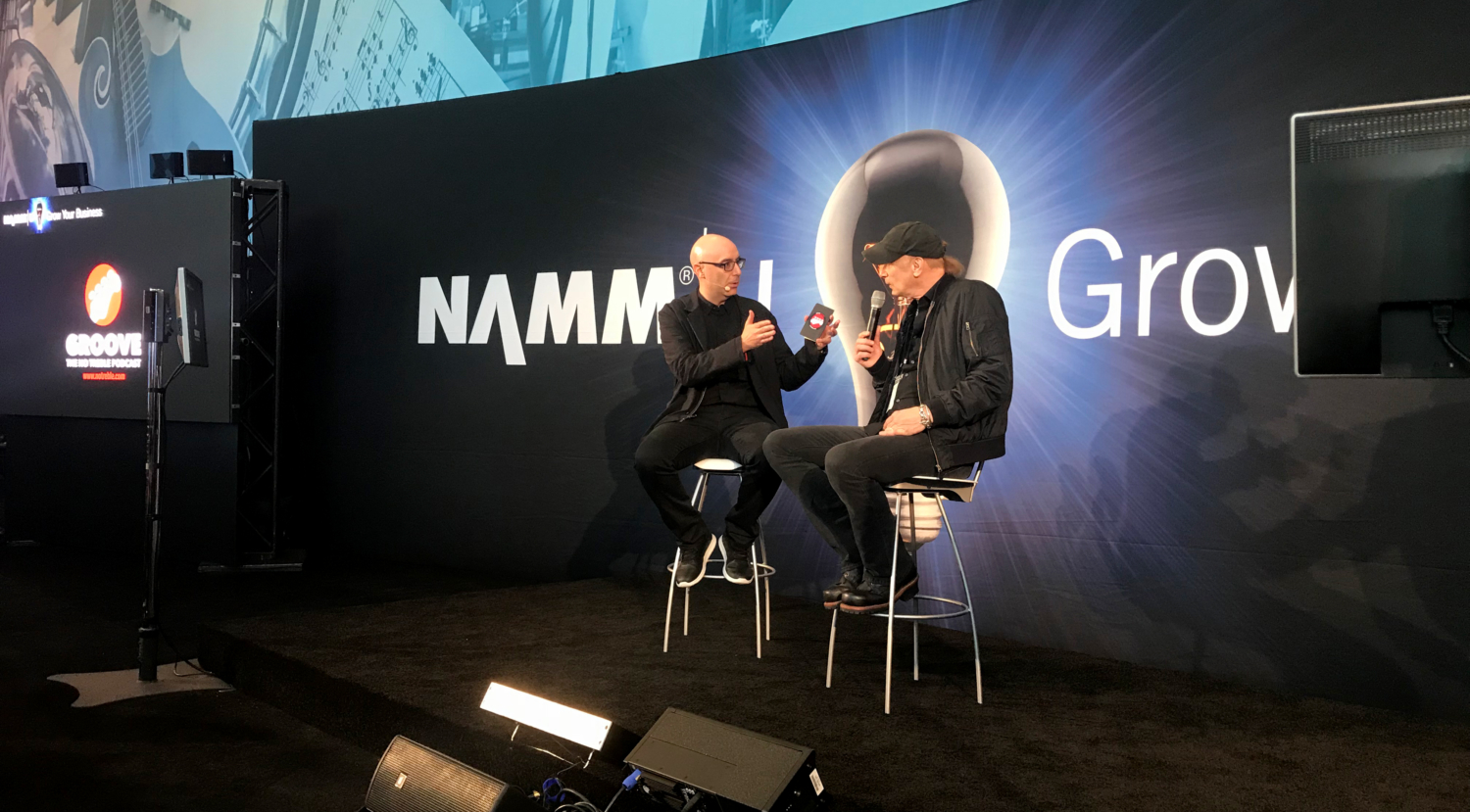 Billy Sheehan: Live Groove NAMM 2018