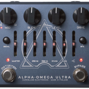 Darkglass Electronics Introduces Alpha Omega Ultra Pedal