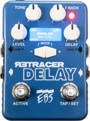 EBS Sweden ReTracer Delay Workstation Pedal