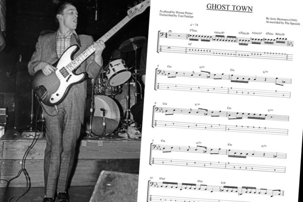 "Bass Transcription: Horace Panter's Bass Line on ""Ghost Town"" by The Specials"