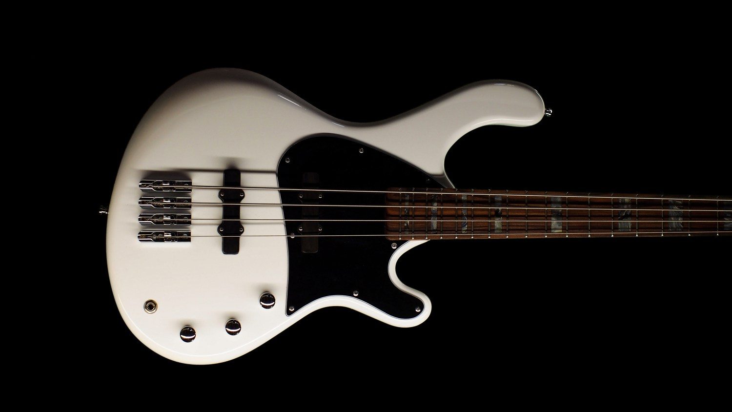 Roks Instruments Nardis Bass Hawthorn White Body