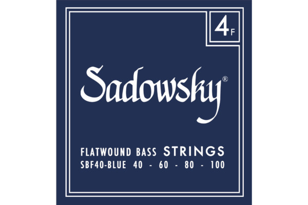 Sadowsky Guitars Launches Re-engineered Blue Label Flatwound Strings