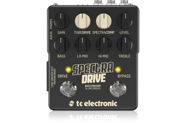 TC Electronic Unveils the SpectraDrive Bass Preamp & Line Driver