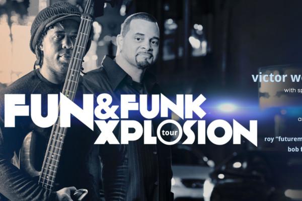 Victor Wooten Announces Fun & Funk Xplosion Tour with Sinbad