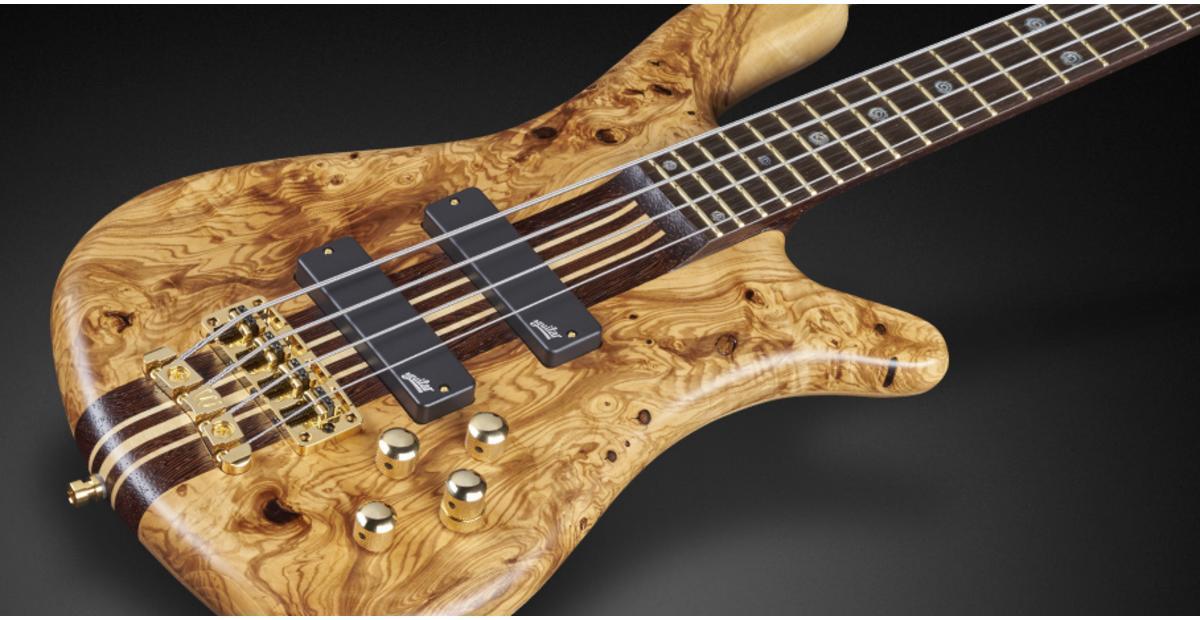 Warwick Streamer Stage I LTD 2018 4-string Bass Body