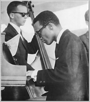 Buell Neidlinger with Cecil Taylor at Newport 1957