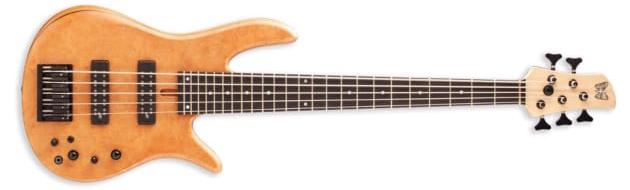 Fodera Madrone Burl Monarch 5 Standard Special Bass