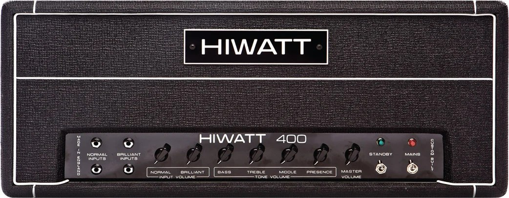 Hiwatt DR401 400 Watt Bass Head