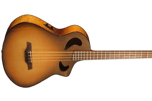 Bass of the Week: Veillette Guitars Acoustic Bass Guitar