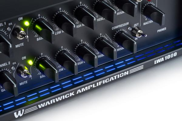 Warwick Announces LWA 1000 Black Bass Amp