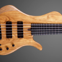 Boldogh Guitars Builds EBS 30th Anniversary Bass