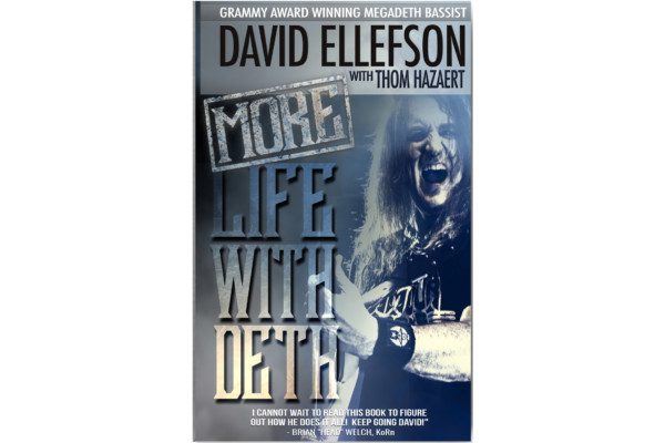 David Ellefson Announces New Memoir