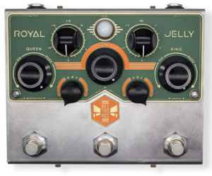 Beetronics Royal Jelly Overdrive/Fuzz Blender Pedal