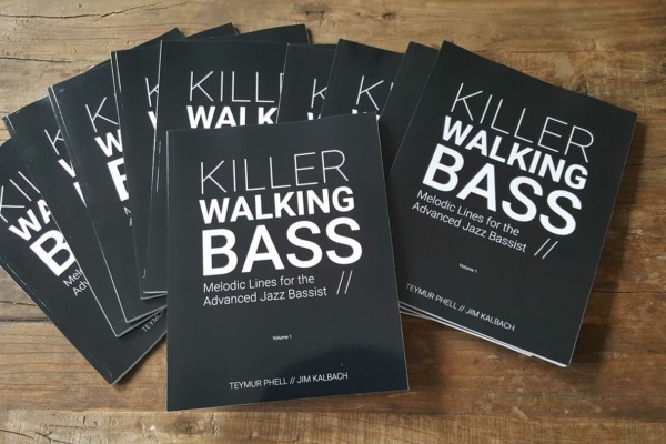 "Phell and Kalbach Release ""Killer Walking Bass"" Book"