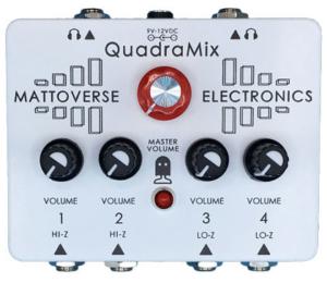 Mattoverse Electronics Quadramix Pedal