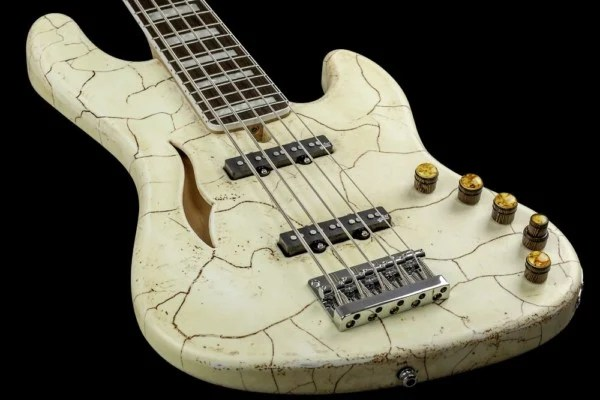 Bass of the Week: Mayones Master Builder Collection Jabba Semi-Hollow