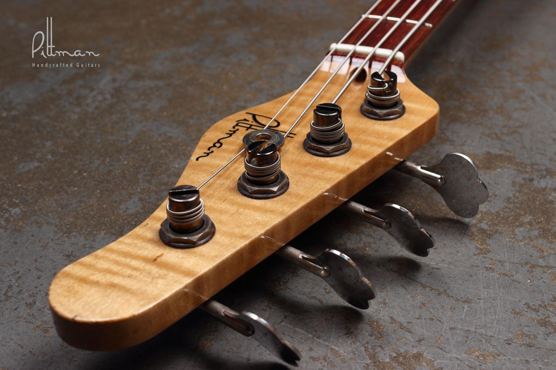 Pittman P Style Bass Headstock