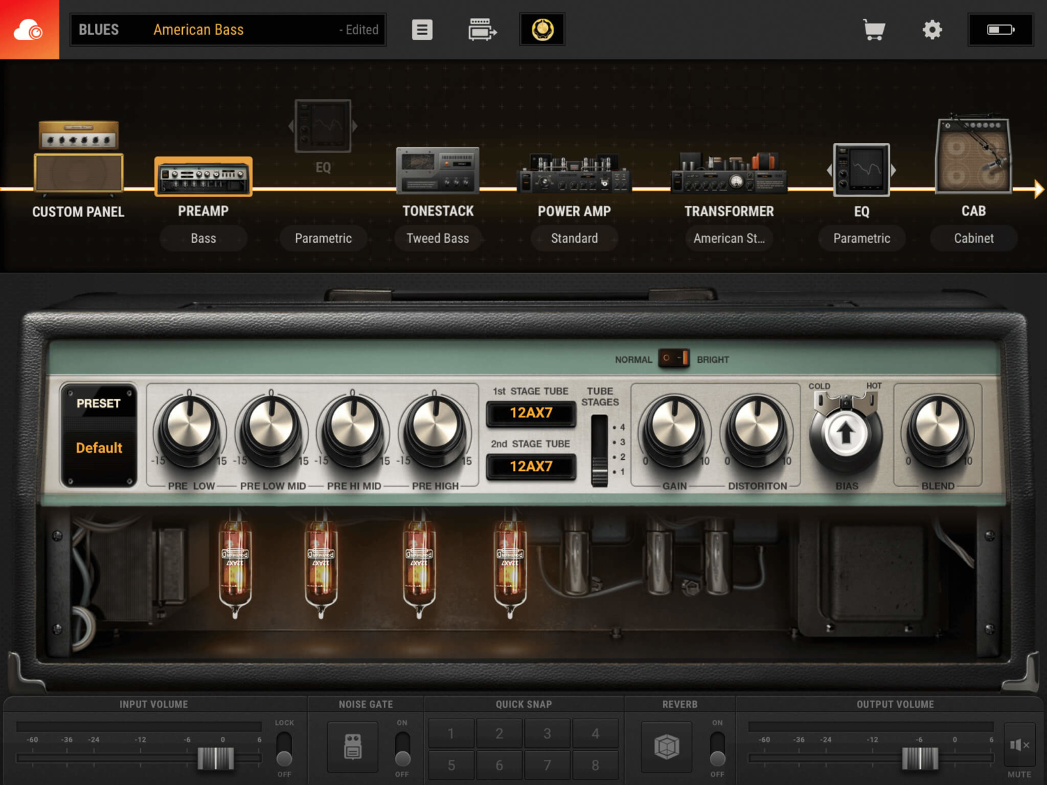 Positive Grid BIAS AMP 2 Mobile App