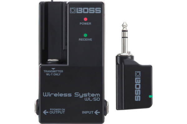 Boss Introduces WL Series Wireless Systems