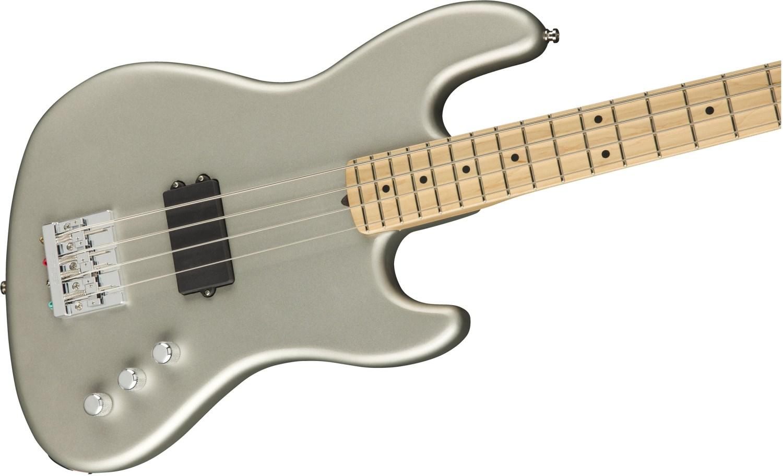 Fender Flea Jazz Bass Active - Inca Silver Body