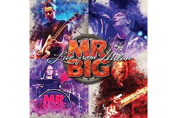"Billy Sheehan Shreds on Mr. Big's ""Live From Milan"""