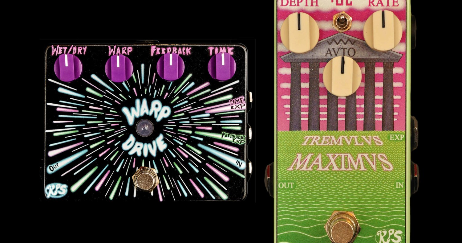 RPS Effects Warp Drive and Tremulus Maximus Pedals