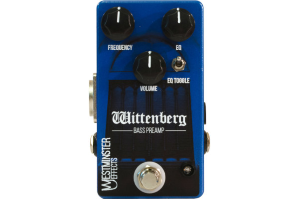 Westminster Effects Announces the Wittenberg Bass Preamp/DI Pedal