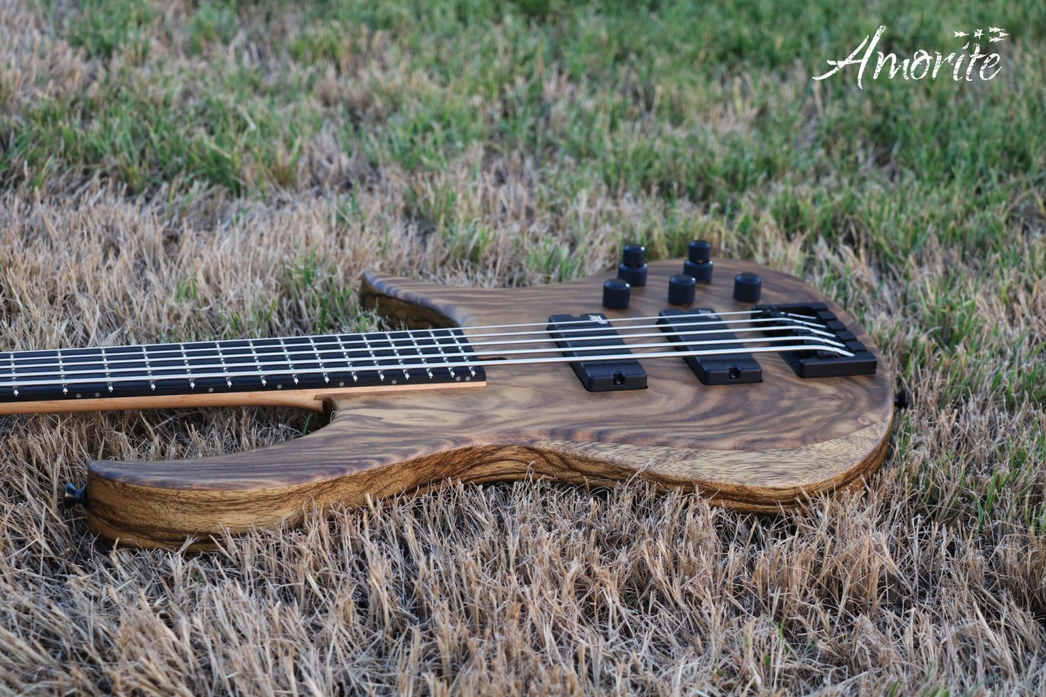 Amorite Guitars Kothar Bass Body Angle