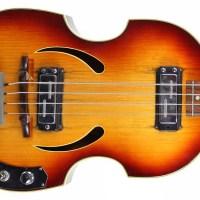 Eastwood Guitars Announces Modern Version of Klira Beatle Bass