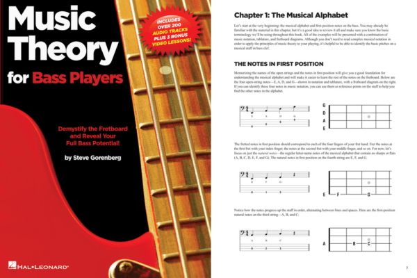 Hal Leonard Publishes Music Theory for Bass Players