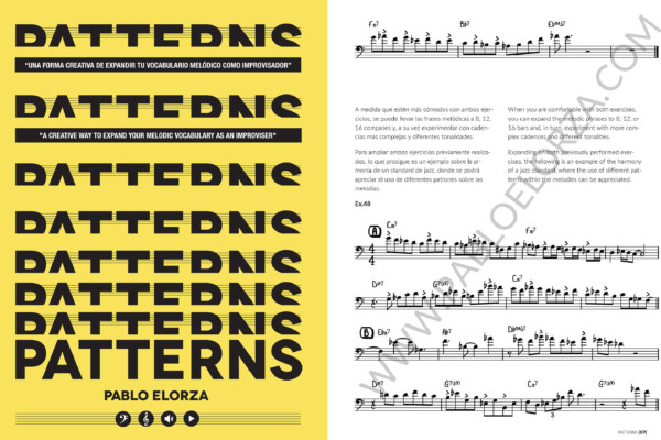 Pablo Elorza Publishes New Instructional Book, Patterns