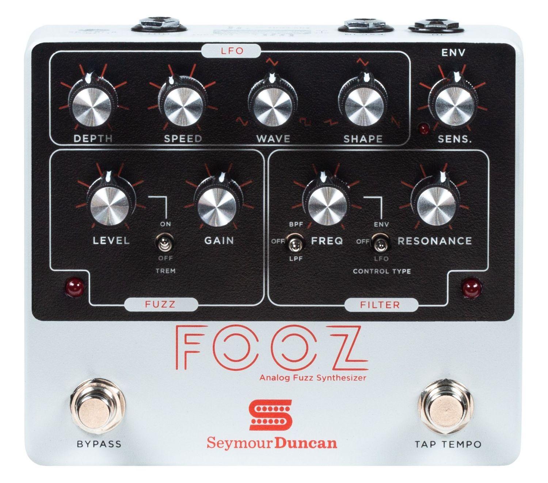 Seymour Duncan Fooz Analog Fuzz Synthesizer Pedal