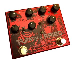 Yellowcake Pedals Furry and Fried Pedal