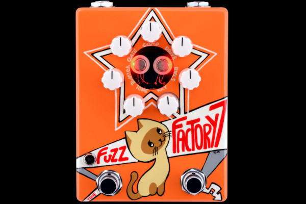 ZVEX Effects Announces the Russian Fuzz Factory 7 Pedal