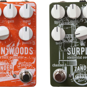 Zander Circuitry Introduces Foxxton Woods Fuzz and Surplus Overdrive Pedals